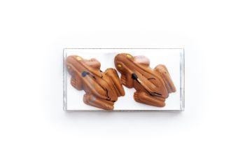 Caramelised White Chocolate Frog x 2